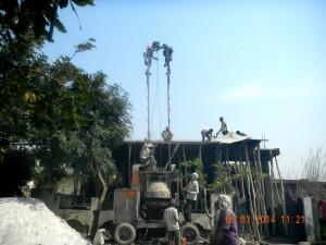 Roof Casting - Nanak Builders, Greater Noida