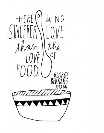 Love and Food