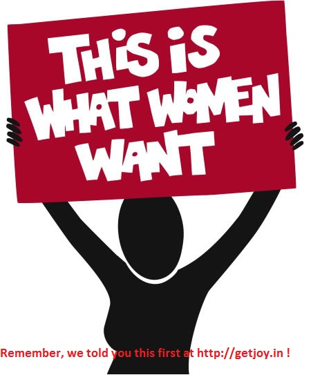 What Women Want - revealed !