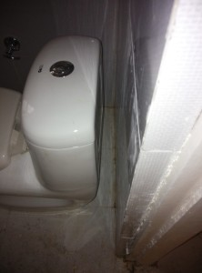 WC fitment by Plumber of Nanak Builders Greater Noida