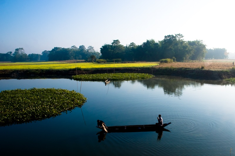 World's largest River Island - Majuli, Assam