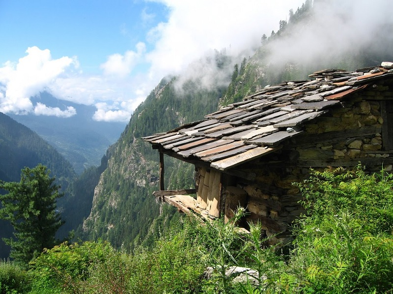 Home to the notorious Cream - Malana, Himachal Pradesh