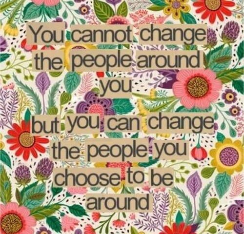 Change people change life
