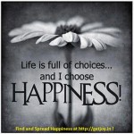 Choose Happiness, Spread Joy, Be a Success !