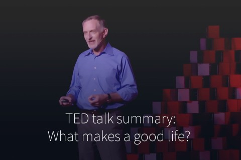 What makes a good life, really ?